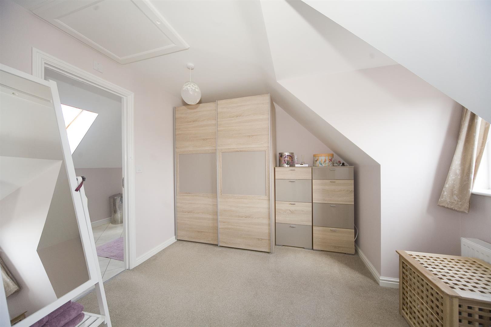 Bedroom one (top floor)